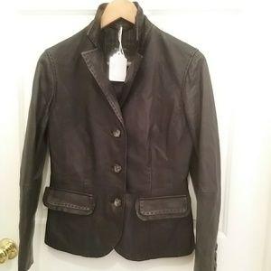 """Weekend """"Max Mara"""" leather jacket #29B"""